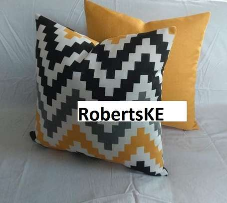 striped decorative throw pillows image 2