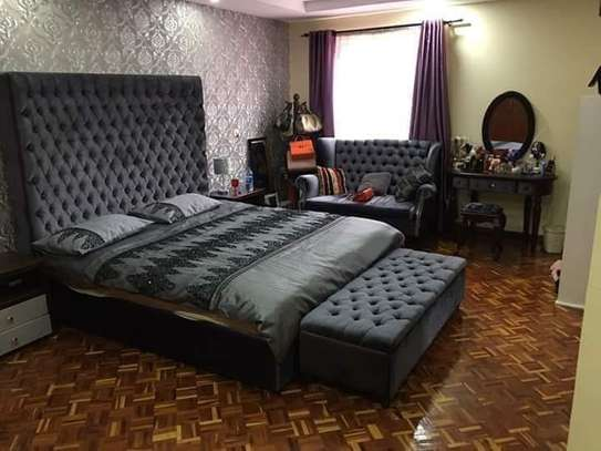 King Size  6*6 Buttoned Beds. image 1