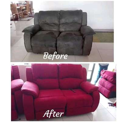 Repair/Reupholstery of Recliner sofas(Imported) image 3