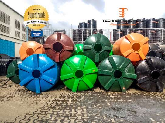 Multicolor Water Tanks
