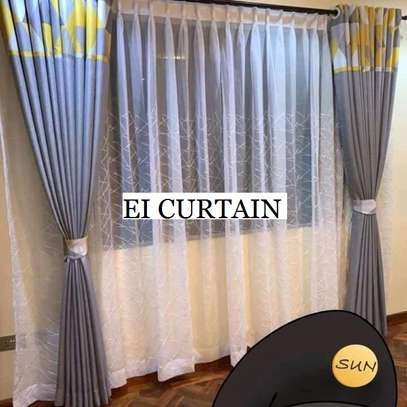 ADORABLE QUALITY FABRIC CURTAINS image 1