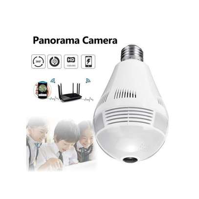 Generic Bulb Nanny Camera for Home and Business image 1