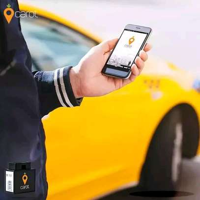 Car track mobile phone or mobile phone application