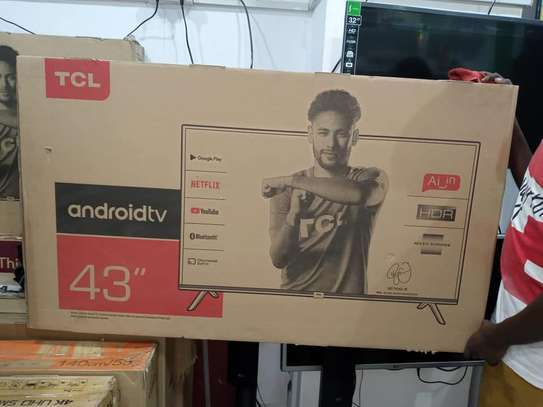 TCL 43 INCH FULL HD SMART ANDROID TV image 1