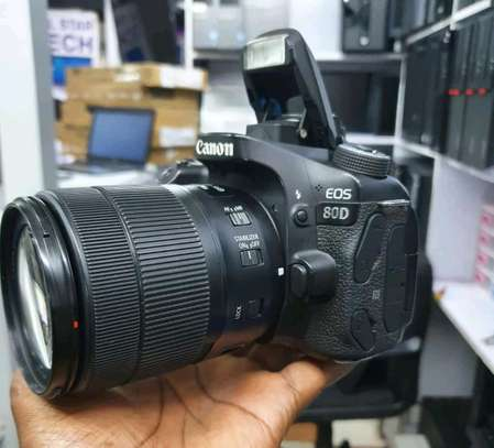 CANON EOS 80D WITH 18-135mm Lens image 3
