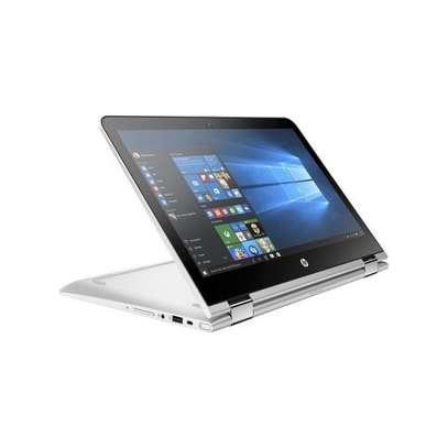 HP Pavilion 14 x360 Laptop - Intel Core i3-2.2 8130U, 14-Inch, 500gb, 8GB, window 10 , Silver image 2