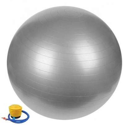 75cm Yoga Ball + Pump image 1