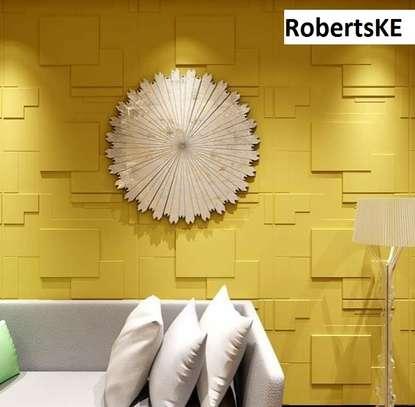 hotel interior  decor 3D wall panel image 1