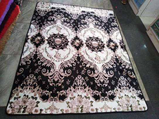 5 BY 8 TURKISH FLUFFY CARPET image 5