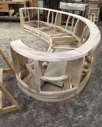 Round/swivel classic sectional U-sofas image 7