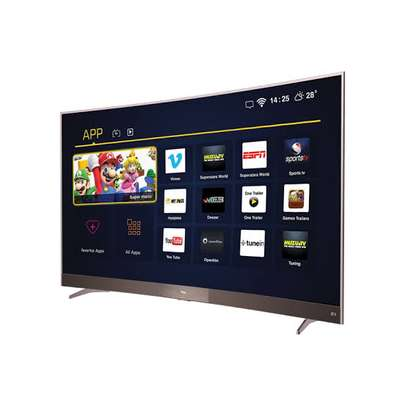 TCL digital smart curved 49 inches image 1