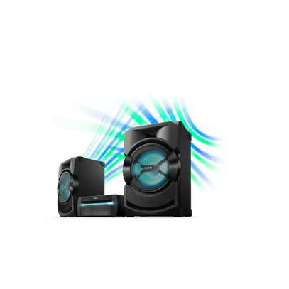 Sony SHAKE X30D High Power Home Audio System Black-12 months warranty image 2