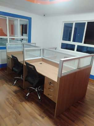 4Way Glass Partitions Workstations Ksh. 68,500.00 With Free Delivery