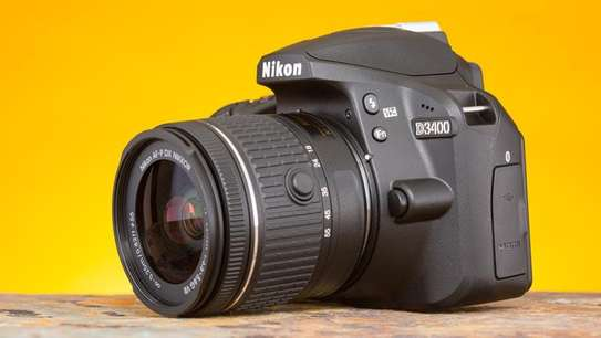 Nikon D3400 DSLR Camera with 18-55mm Lens image 2