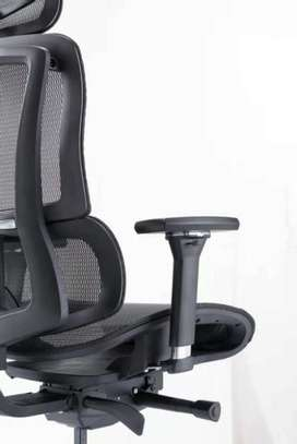 Vintage High Back Mesh Office Chair image 1
