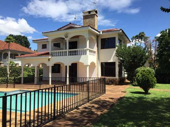 5 bedroom house for rent in Runda image 10