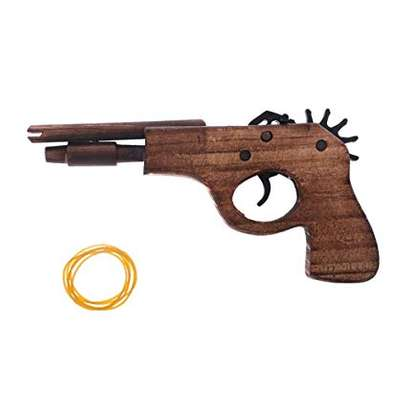 Rubber band toy gun