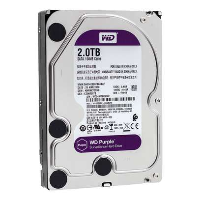 CCTV 2000gb HDD storage capacity
