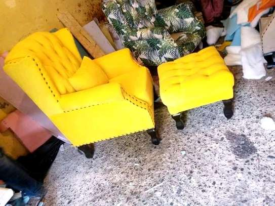 Gorgeous Modern Quality Wingback Chairs image 1