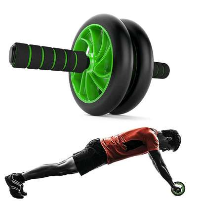 Double wheel Gym roller image 1