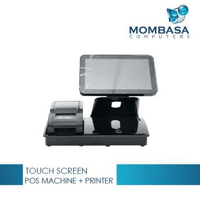 Touch Screen POS Machine with External 58mm Thermal Printer image 1