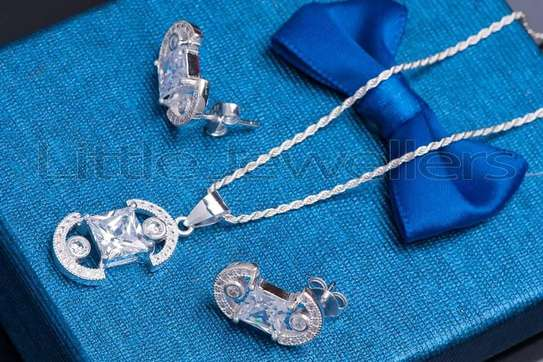 Sterling silver necklace sets perfect for mother's day!! image 3