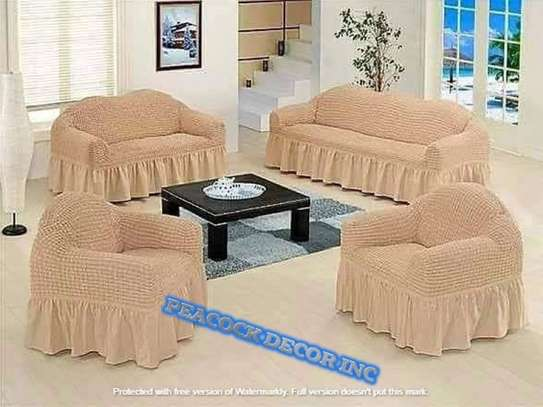 Ready Made Loose Covers 5 seater 11500/= image 13