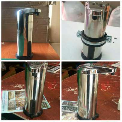 automatic soap and sanitizer dispenser