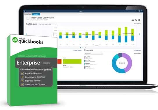 QuickBooks Enterprise 2018 image 1