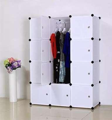 Portable Plastic wardrobe image 2