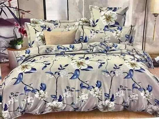 COTTON DUVETS WITH 1 BEDSHEET AND 2 PILLOW CASES image 3