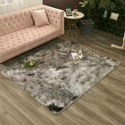 Patched Soft Fluffy Carpets image 5