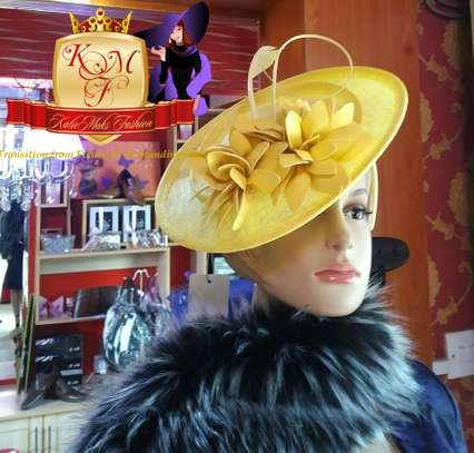 Sinamay Designer Disc Fascinators From UK.