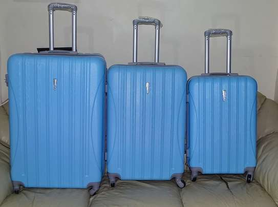 3pcs 3 In 1 Hard Durable Spinner Suitcase Set