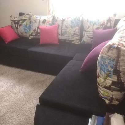 6 seater furniture in prestine condition. 4 months old image 1
