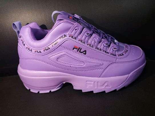 Ladies fila sneakers image 2