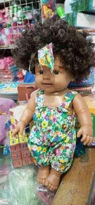 Kids Babies Black African Pretend Play Doll image 2