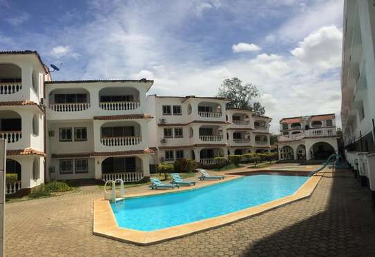 2br beachfront furnished apartment for rent in Bamburi beach-Bamburi Beach Villas Apartments image 4