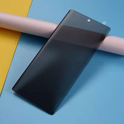 UV Privacy Anti-Spy Anti-Peep NANO Liquid Full Glue Tempered Glass For Samsung Note 20/Note 20 Ultra image 4
