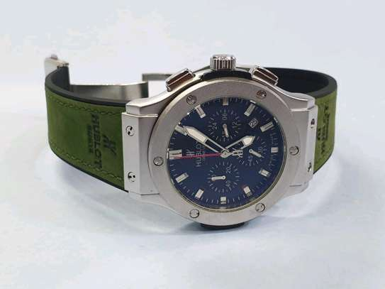 Hublot watch Green straps