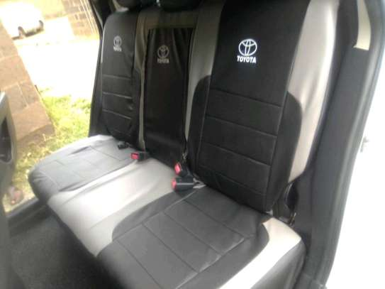 BEST QUALITY TOYOTA CAR SEAT COVERS image 2