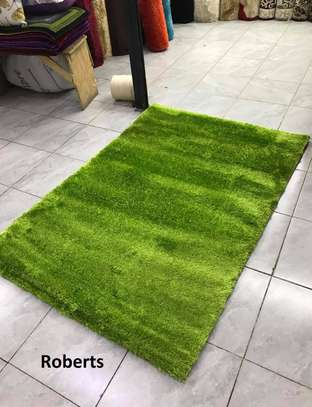Soft green carpet image 1
