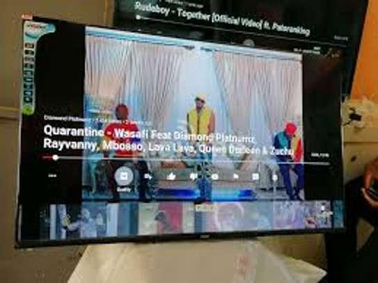 "Vision 55"" 4K ULTRA HD ANDROID TV, NETFLIX, FRAMELESS VP-8855K image 1"