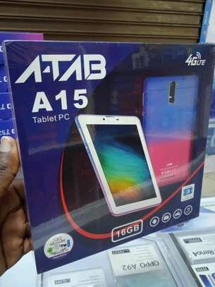 Atab A15 Tablets 16gb 2gb ram- Dual Sim tabs+4G network image 2