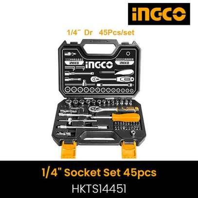 INGCO 45PCS SOCKET SET