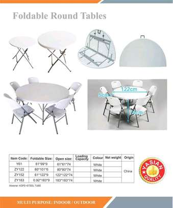 Foldable tables on offer of 3000 image 2