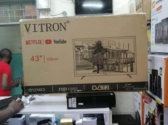 43 Inch smart Vitron TV image 1