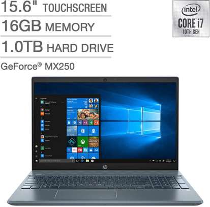 HP Pavilion 15 Touch Screen 10th Generation Intel Core i7 Processor (Brand New) image 1