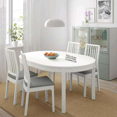 Four seater dining set/Dining set image 1