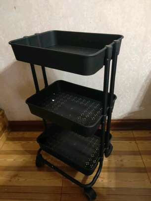 3 tier  movable Trolley image 2